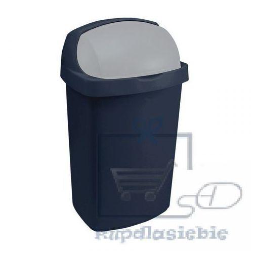 Curver Kosz na śmieci 175446 25l granatowo-szary