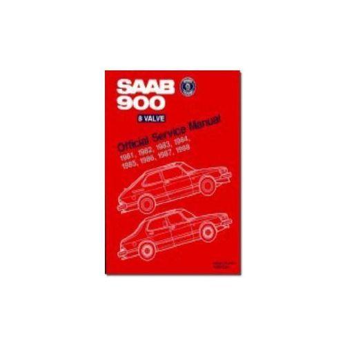 Saab 900 8 Valve 1981-1988 Official Service Manual (9780837603100)