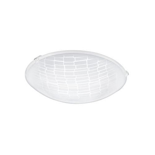 Plafon Eglo Malva 1 96084 oprawa lampa sufitowa ścienna 1x11W LED biały, kolor biały,