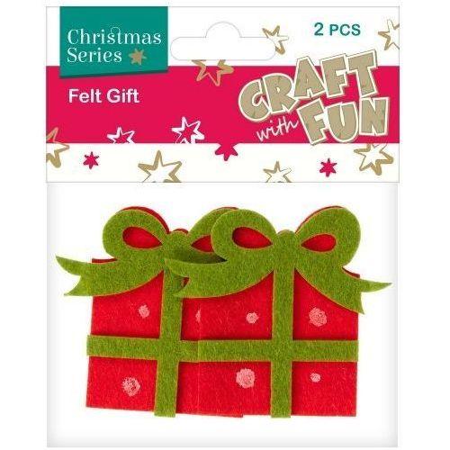 Filc dekoracyjny prezent 383944 - euro-trade marki Craft with fun
