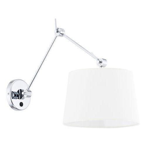 Argon Kinkiet zakyntos 3545 lampa ścienna oprawa 1x60w e27 biały >>> rabatujemy do 20% każde zamówienie!!! (5902553202960)