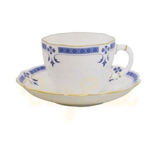 Royal crown derby grenville spodeczek do filiżanki do herbaty