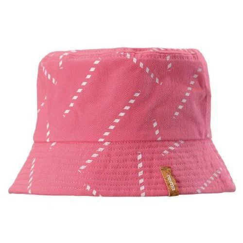 Reima dziecięca czapka-kapelusz Juhla, 48, różowa, kolor różowy