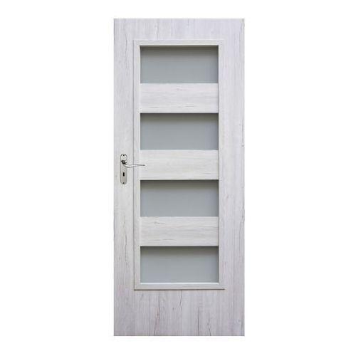 Winfloor Drzwi pokojowe kastel 80 prawe silver (5907539385620)