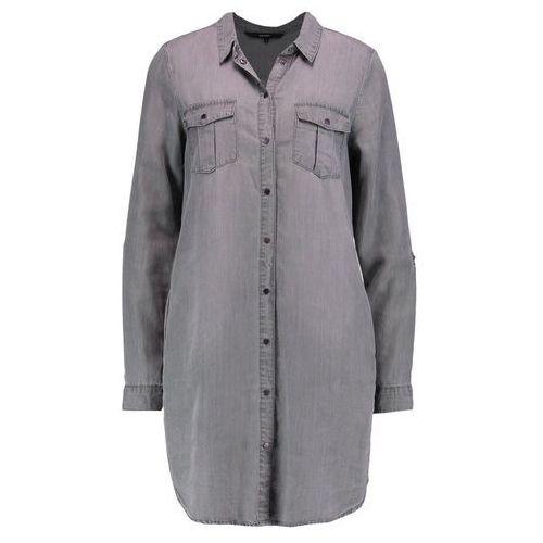 Vero Moda VMSILLA Sukienka jeansowa light grey denim (5713615112444)