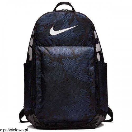 Plecak szkolny sportowy moro granatowy marki Nike