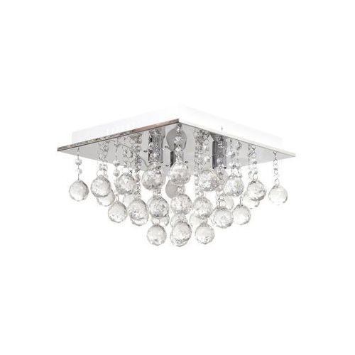 Helam Lampa sufitowa kryształowa clarion 3xe14/40w/230v (5902349216171)