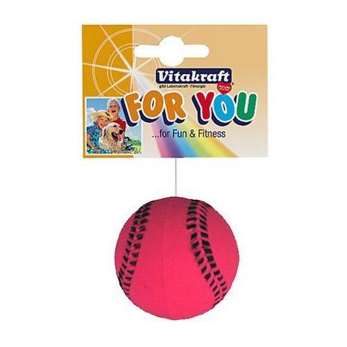 Vitakraft  for you - zabawka dla psa piłka tenisowa gumowa 1szt (4008239396549)