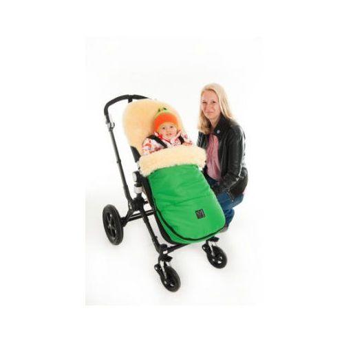 śpiworek do wózków bugaboo und joolz, zielony marki Kaiser