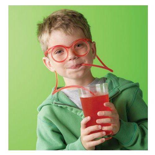 Giftworld Zakręcone okulary do picia - przeźroczyste