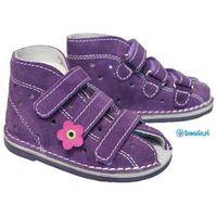 profilaktyczne buty wzór 013nk kolor fiolet marki Adamki