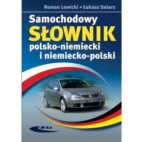 Samochodowy słownik polsko-niemiecki i niemiecko-polski, oprawa twarda