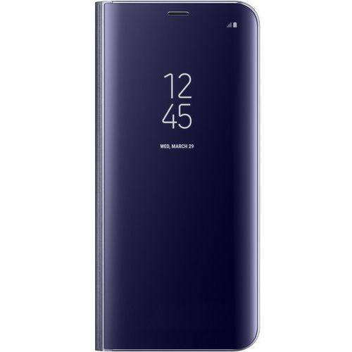 Samsung Etui clear view standing cover do galaxy s8+ fioletowy ef-zg955cvegww (8806088687179)