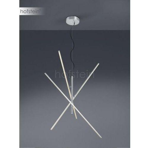 tiriac lampa wisząca led nikiel matowy, 3-punktowe - nowoczesny - obszar wewnętrzny - tiriac - czas dostawy: od 3-6 dni roboczych marki Trio