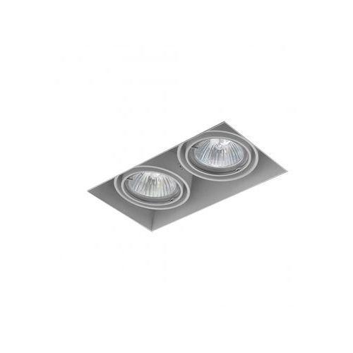 SQUARES 50x2 trimless 230V Phase-Control wpuszczany biały 37012-0000-U8-PH-03