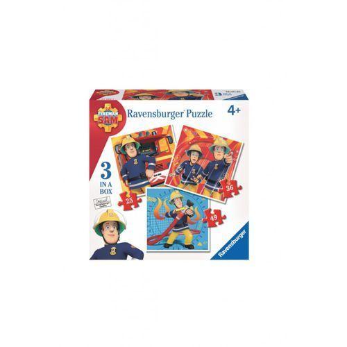 Ravensburger Strażak sam 3w1 puzzle 1y36p8