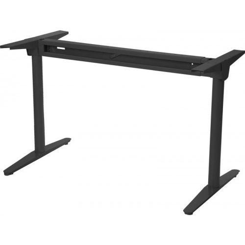 Stelaż metalowy biurka z rozsuwaną belką wt-102, kolor czarny marki Stema - wt