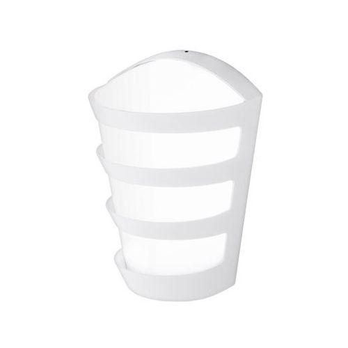 Zewnetrzna lampa ścienna pasaia 95111  oprawa elewacyjna led 4,5w kinkiet ip44 outdoor biały, marki Eglo