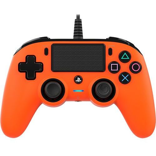 Kontroler nacon compact controller pomarańczowy do ps4 marki Big ben