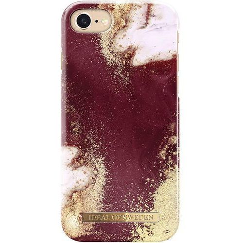 Ideal of sweden ab Ideal of sweden fashion case etui obudowa do iphone 8 / iphone 7 / iphone 6s / iphone 6 (golden burgundy marble)