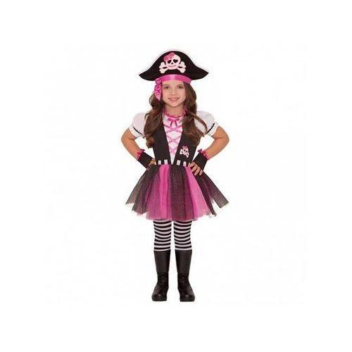 Amscan Kostium różowa piratka dla dziewczynki - 5/7 lat (116) (0013051579395)