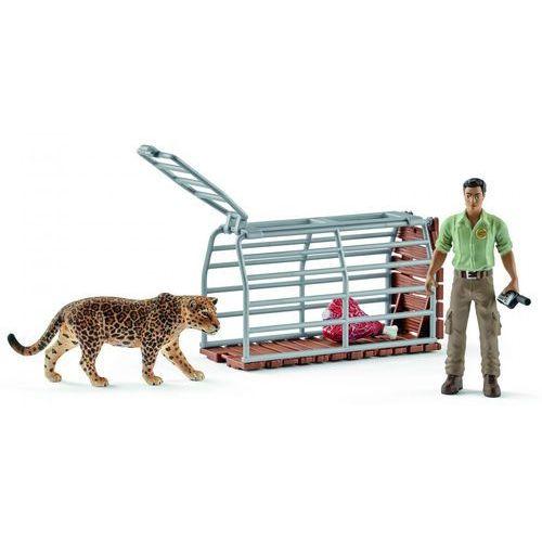 Schleich zestaw figurek pułapka na duże zwierzę 42427