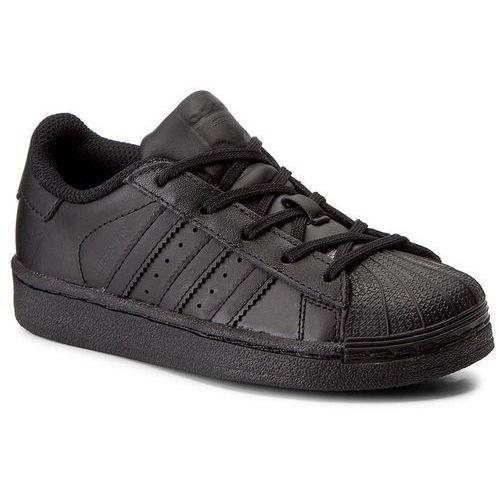 Adidas Buty - superstar foundation c ba8381 cblack/cblack/cblack