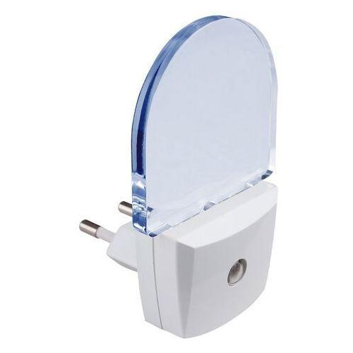 Lampka do gniazdka wtykowa niebieskie światło paris lux 1x0,5w led biała/niebieski 4660 marki Rabalux