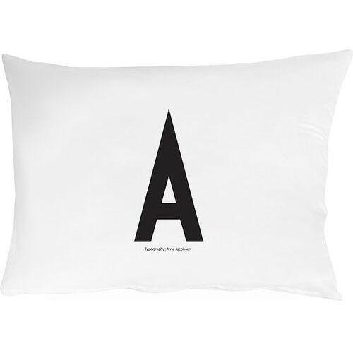 Design letters Poszewka na poduszkę arne jacobsens vintage abc litera a
