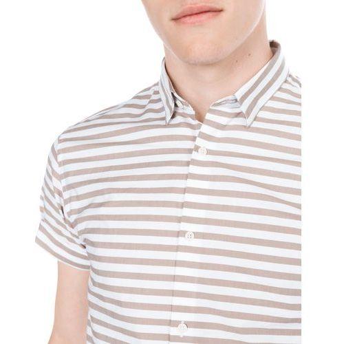 Jack & jones elverson shirt biały brązowy xxl