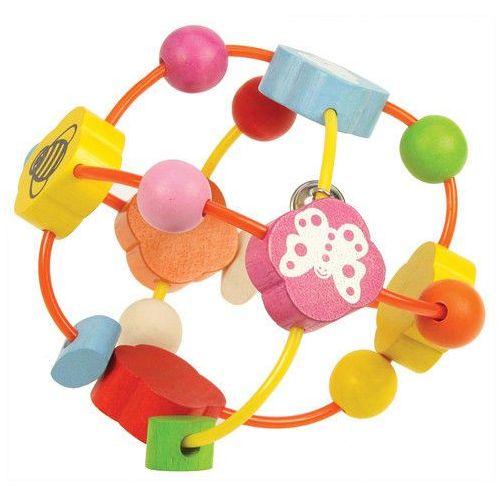 Piłka z różnokolorowymi elementami (0691621210383)