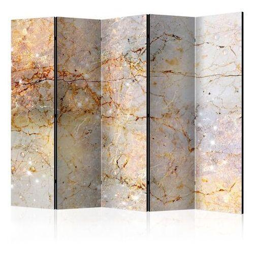 Artgeist Parawan 5-częściowy - zaklęte w marmurze ii [room dividers]