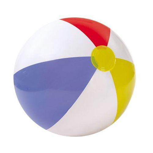piłka plażowa dmuchana 51cm 3 paski, w torbie, marki Intex
