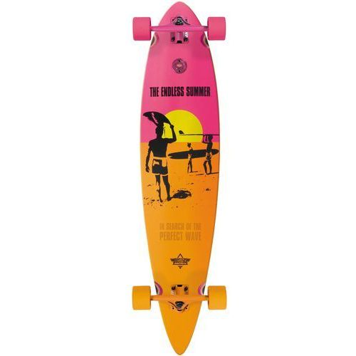 Dusters Longboard - endless summer yellow/orange/pink (yellow orange pink)