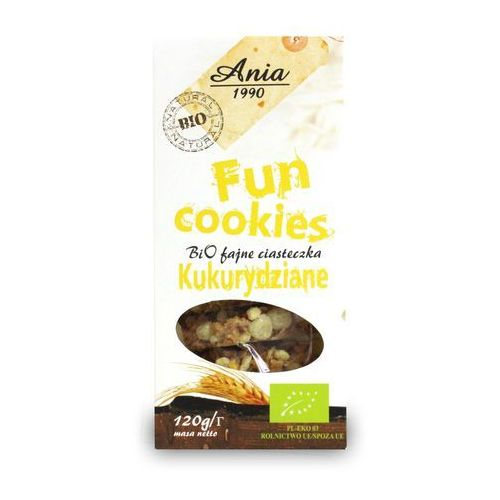 Fun cookies kukurydziane 120g BIO, 5903453004791