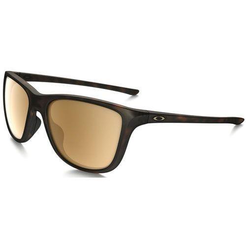 reverie okulary sportowe matte brown tortoise marki Oakley