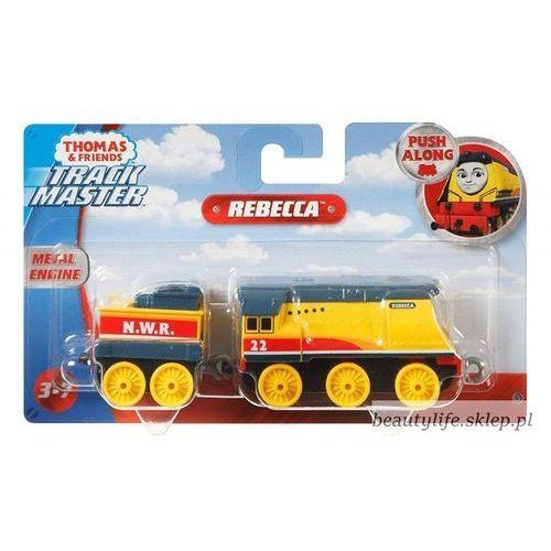 Fisher price Pociąg tomek i przyjaciele, duża lokomotywka trackmaster rebecca