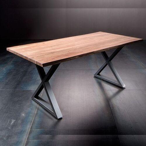 Stół Catania obrzeża ciosane natur, 220x100 cm grubość 5,5 cm
