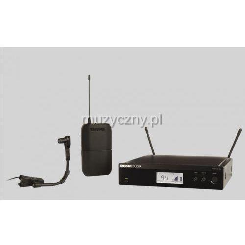 Shure BLX14R/Beta98 BETA Wireless mikrofon bezprzewodowy do instrumentów Beta 98 H/C, odbiornik w obudowie 1/2 rack 19″, H8E