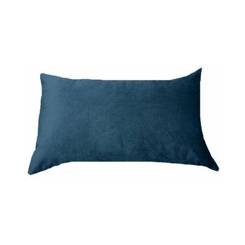 Poduszka welurowa Tony ciemnoniebieska 50 x 30 cm Inspire (3276007085129)