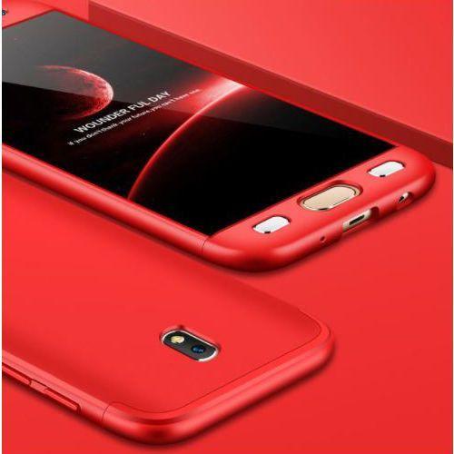 Etui ochronne dla Samsung Galaxy J5 2017 - Czerwone - Czerwony, kolor czerwony