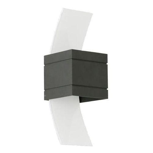 Lampex Kinkiet vitrum b czarny - czarny