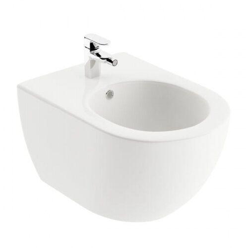uni chrome bidet wiszący, kolor biały x01517 marki Ravak