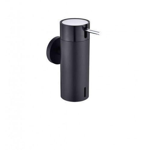 Stella dozownik do mydła w płynie 0,15L, czarny mat+pompka czarna 17.020-BC chrom