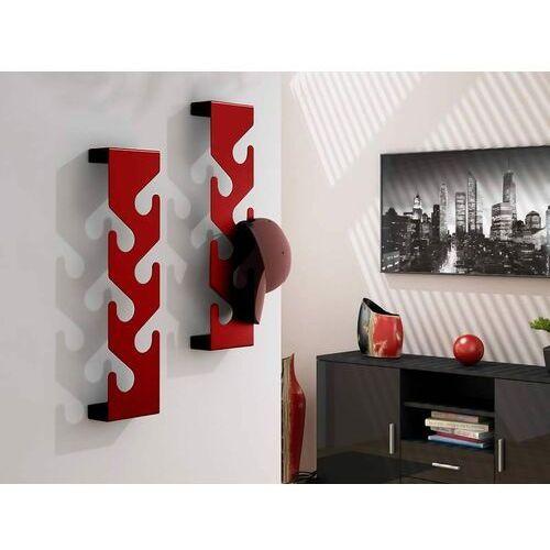 D2.design Wieszak na ubrania cani czerwony (5902385714419)