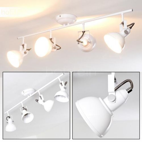 Hofstein Tina lampa sufitowa biały, 4-punktowe - nowoczesny - obszar wewnętrzny - tina - czas dostawy: od 3-6 dni roboczych (4058383029657)