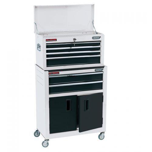 Wózek narzędziowy z nadstawką 6 szuflad + szafka