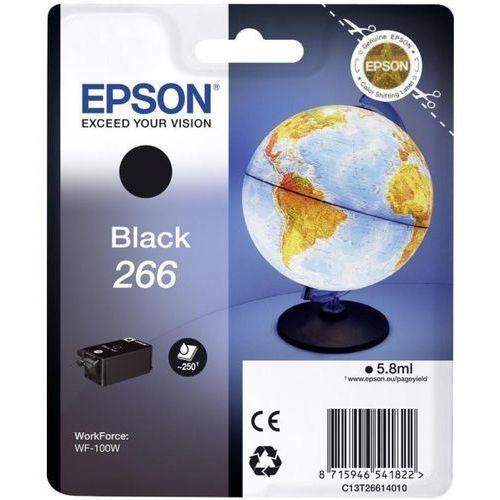 Wkład atramentowy workforce wf-100w globe 266 czarny 5,8ml marki Epson