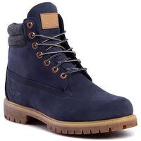 Trapery - premium 6 in waterproof boot tb0a1zkj451 navy nubuck, Timberland, 40-46