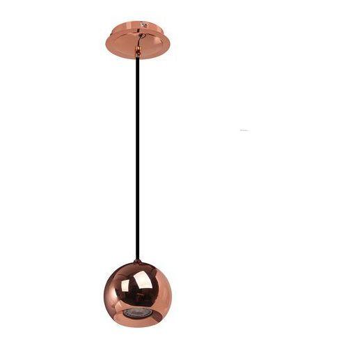 Italux Nowoczesna lampa wisząca james fh5951-bcb-120 metalowa oprawa halogenowy zwis kula ball chrom